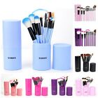 12pcs Makeup Brushes Set Powder Foundation Eyeshadow Eyeliner Lip Brush Tool