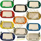 Kevron Pack 10 Giant Hotel Key Tag Garage School Car Show Room Locker 11 Colours