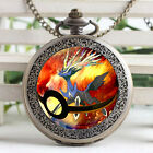 Wearable Art Pocket Monster Xernea Casual Watch Necklace  Men Fashion Watches