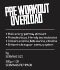 OVERLOAD extra strong pre workout drink 500g pouch - Free and Fast Delivery