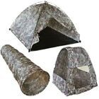 KIDS ARMY CAMOUFLAGE PLAY TUNNEL DOME TENT POP UP TENT BOYS SOLDIER BTP MTP CAMO