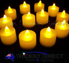 12x LED Tealight Candles For Parties, Weddings, Church use