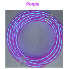 110V Neon Chasing Rope Light EL Wire Strip String Light Flexible 3V/12V Control