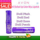 AVON ALL DOLLED UP COLOR BLISS LIPSTICK + SUN PROTECTION SELECT YOUR CHOICES