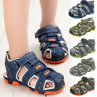 Children Kids Shoes Baby Boy Closed Toe Summer Fashion Beach Sandals Flat Shoes