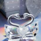 Choice Crystal Kissing Swans Wedding Party Favors - 14-100 Qty