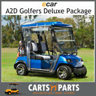 Ecar A2D Golfers Deluxe Full Package NEW GOLF CART Buggy 2 Seat Plum Grey
