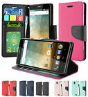 For ZTE Prestige 2 N9136 Premium PU Leather Wallet Flip Cover Case