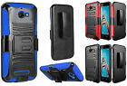 For CoolPad Defiant Shock Proof Armor Hybrid Holster Clip Stand Cover Case
