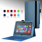 "New Folio Stand Leather Case Cover for Microsoft Surface Pro Pro 2 10.6"" Tablet"
