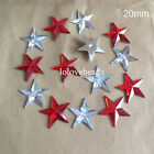 20MM Five Star Flatback Acrylic Diamond Loose Rhinestone Scrapbook DIY Crafts