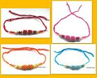 RAKHI RAKSHA BANDHAN INDIAN WRIST BAND KID FESTIVAL RAKHDI HINDU OM PEARL FANCY