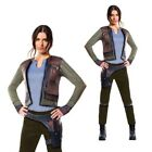Rubies Womens Official Star Wars Rogue One Jyn Erso Fancy Dress Costume Outfit $82.95 AUD