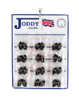 Joddy Clips - Rubber Jodhpur Clips (One Pair - Black or Brown)