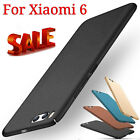 For Xiaomi 6 Luxury Ultra Thin Shockproof Case Hard PC Back Matte Cover Skin UK
