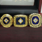 A Set 1955 1981 1988 Los Angeles Dodgers World Series Championship Ring 8-14Size