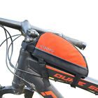 New Cycling Bike Bicycle Front Frame Pannier Saddle Tube Bag For Mobile Phone