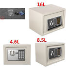 Home Office Jewelry Money Cash Security Safe Deposit Box Locker Digital + Keys