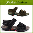 NEW MENS STRAP WALKING PRACTICAL COMFY LIGHTWEIGHT SANDALS SIZES UK 7-11