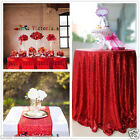 Sale Red Sparkly Sequin TableCloth Tablecloths for Wedding /Event/Party/Banquet