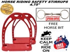 SAFETY SADDLE STIRRUP HORSE RIDING CRYSTALS/DIAMANTE AND LOOSE RING HORSE BIT