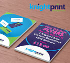 Leaflets / Flyers Printed on 170gsm gloss - From £13.00 - A4 / A5 / A6 / DL