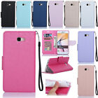 Luxury PU Leather Card Solts Wallet Flip Case Cover Stand For Samsung Galaxy