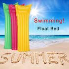 Multicolor Inflatable Matte Float Bed Swimming Pool Beach Inflatable Float