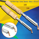 30W/50W Electric Soldering Iron Heavy Duty Chisel Tip Point Manufacturing Craft
