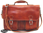 new Floto Procida Italian Leather Messenger Bag in Honey Brown (7611OLIVE)