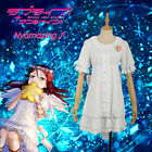 Love Live! Sunshine!! Angel Unawaken Riko Sakurauchi White Dress Cosplay Costume
