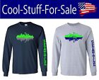 Seattle Seahawks Skyline Football Long Sleeve Shirt $25.59 USD on eBay