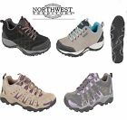 Womens Walking Shoes Hiking Boots Genuine High Quality Suede Non Slip UK 4-8