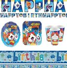 Yo-Kai Watch Party Supplies Birthday Tableware Sets Banner Plates Napkins Cups