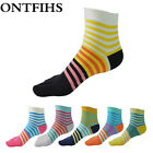 6pairs Women Cotton Five Finger Toe Breathable Absorb Sweat Girl Elasticity Sock