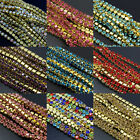 Densely SS8  Rhinestone chains Crystal strass chain sew on Gold base 10yards f