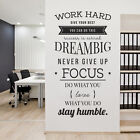Work Hard,Give Your Best, You Can Do This, Dream Big ... - Company Office, Corpo