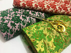 NEW*Soft Jacquard Brocade Floral Roses Weave Dress/Craft/Cushion Fabric FREE P&P
