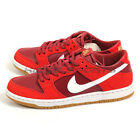 Nike SB Zoom Dunk Low Pro Track Red/White-Cedar 854866-616 Skateboarding Shoes