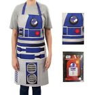 Adults Official Licensed Star Wars R2-D2 Droid White Kitching Cooking Apron