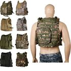 Outdoor Adjustable Military Tactical Vest Paintball MOLLE Airsoft Combat SWAT EK