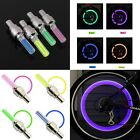 Sporting Goods - INDIVIDUAL LED Bike Valve Stem Cap Flashing Light Bicycle Wheel Tire