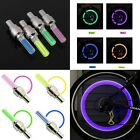 Sporting Goods - INDIVIDUAL LED Bike Valve Stem Cap Flashing Light Bicycle Wheel Tire Tyre Car