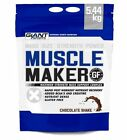 Muscle Maker mass Gainer Giant Sports - Bulking Protein 12lbs Gluten Free