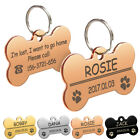 Dog Tags Personalized Custom Name Plate Free Engrave Gold Sl