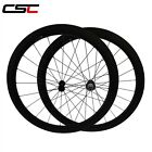 Lightest Powerway R13 Hub 650C Carbon Road Biycle 50mm Cincher Wheels Tubeless