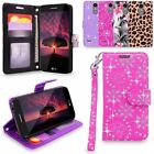 LG K4 2017 / Phoenix 3 / Aristo / Fortune Leather Wallet Case Flip Stand Cover