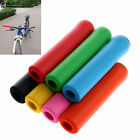 1 Pair Bike Cycling Bicycle Tube Type Anti-slip Soft Handlebar Cover Hand Grips