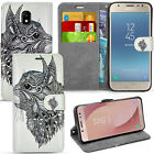 For SAMSUNG GALAXY J5 2017 J530 -Wallet Leather Case Flip Cover + Screen Guard