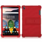 "Silicone Stand Case Cover Skin For Lenovo Tab3 8 Plus / P8 (TB-8703F) 8"" Tablet"